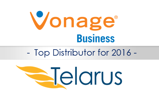 Vonage Telarus Winner