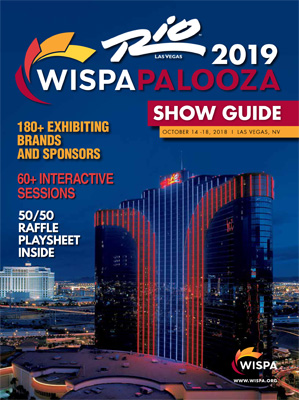 WISPAPALOOZA 2019 Show Guide Cover